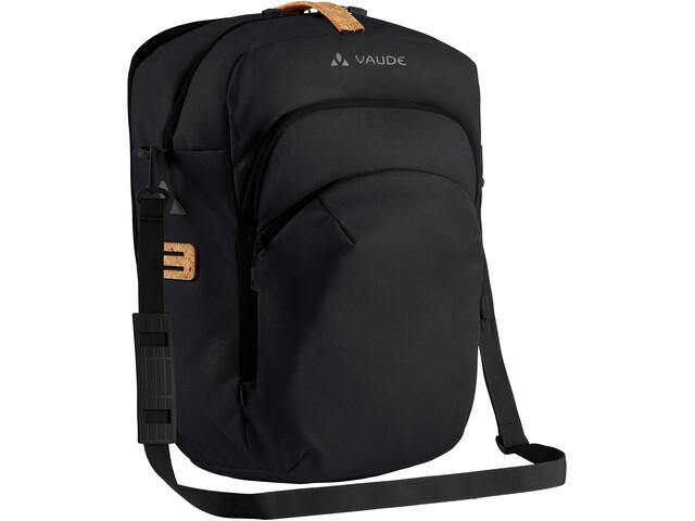 VAUDE eBack Single Fietstas, zwart